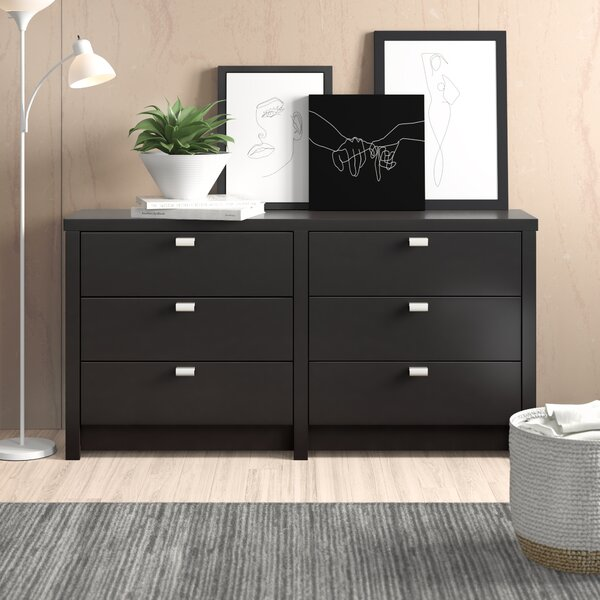 Oleanna 6 Drawer Double Dresser by Zipcode Design