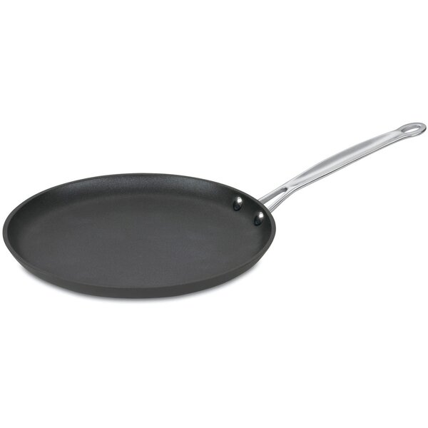 Chef S Classic Hard Anodized 10 Non Stick Crepe Pan By Cuisinart.