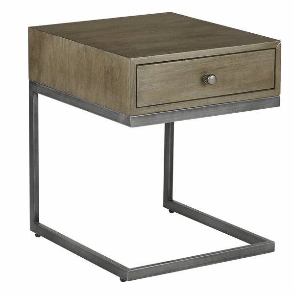 Toutain End Table by Gracie Oaks