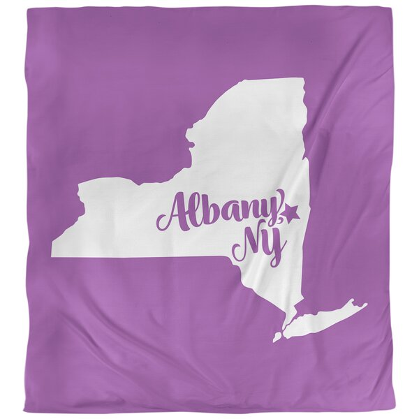Albany New York Duvet Cover