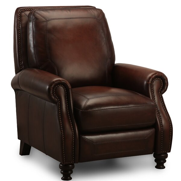 Arledge Leather Manual Recliner by Greyleigh Greyleigh