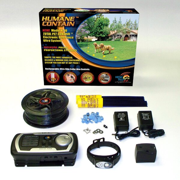 Multi Function Dog Electric Fence By High Tech Pet.