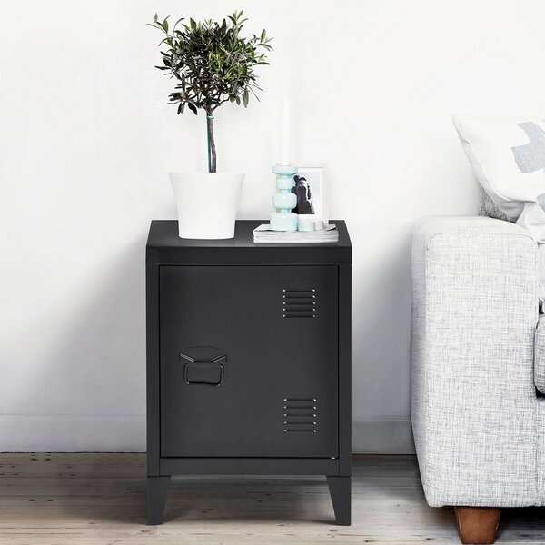 Aletha End Table With Storage By Ebern Designs