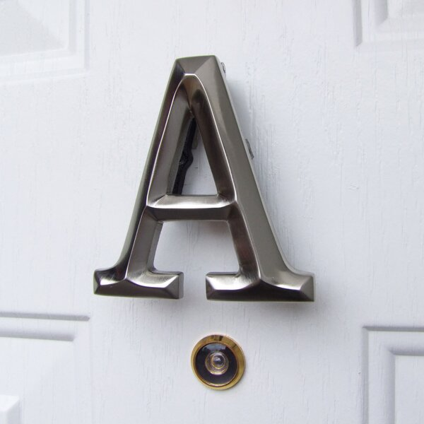 Letter Monogram Door Knocker by Michael Healy Designs