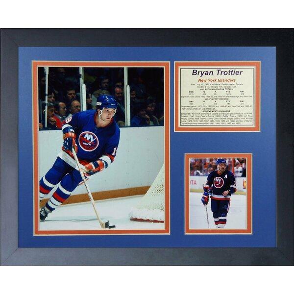 Bryan Trottier - New York Islanders Framed Memorabilia by Legends Never Die