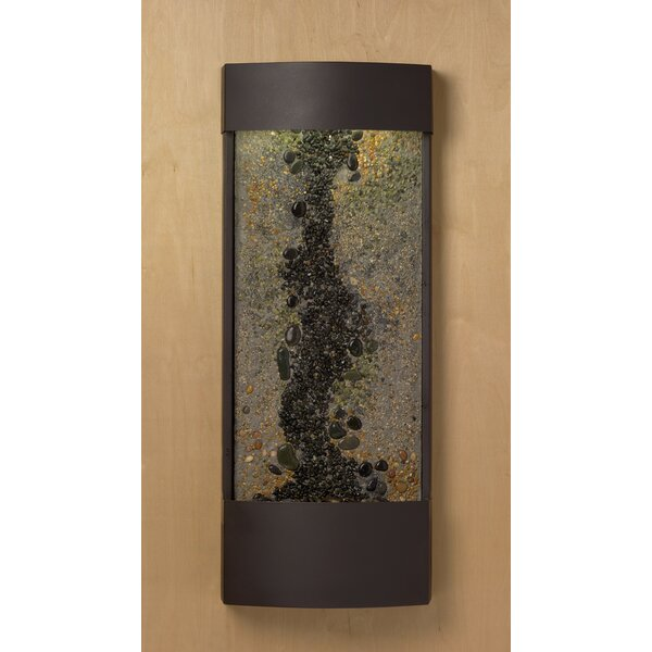 Black Stone Panel Enchanted Creek Water Feature by Nayer Kazemi