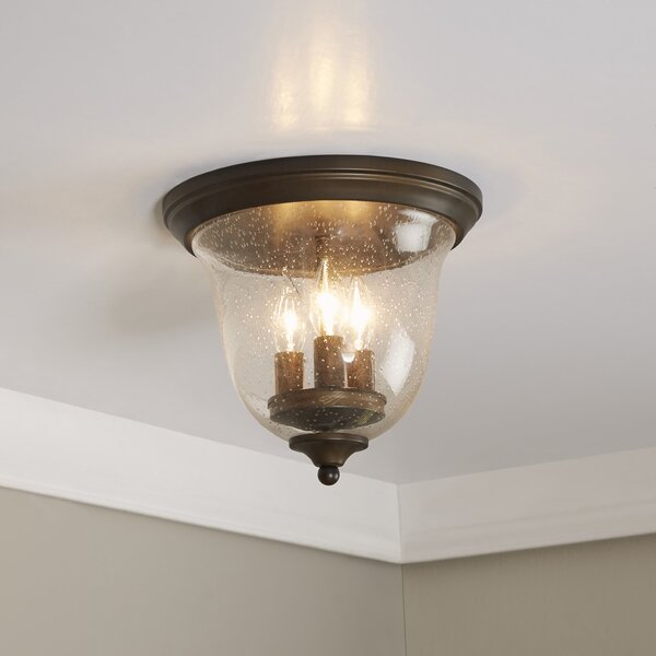 Cheever Curved Flush Mount by Birch Lane™
