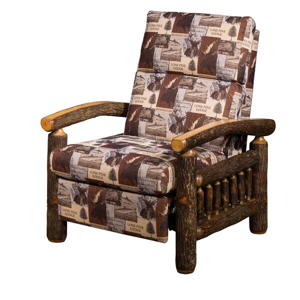 Quintero Hickory Manual Recliner by Loon Peak
