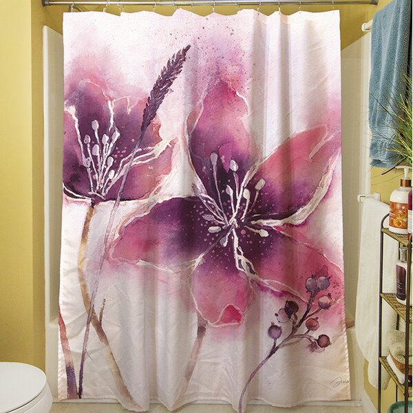 Garden Tour View Shower Curtain by Manual Woodworkers & Weavers