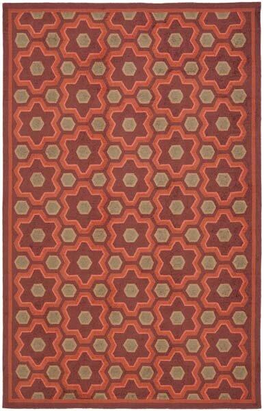 Puzzle Choc Cosmos Brown Area Rug by Martha Stewart Rugs