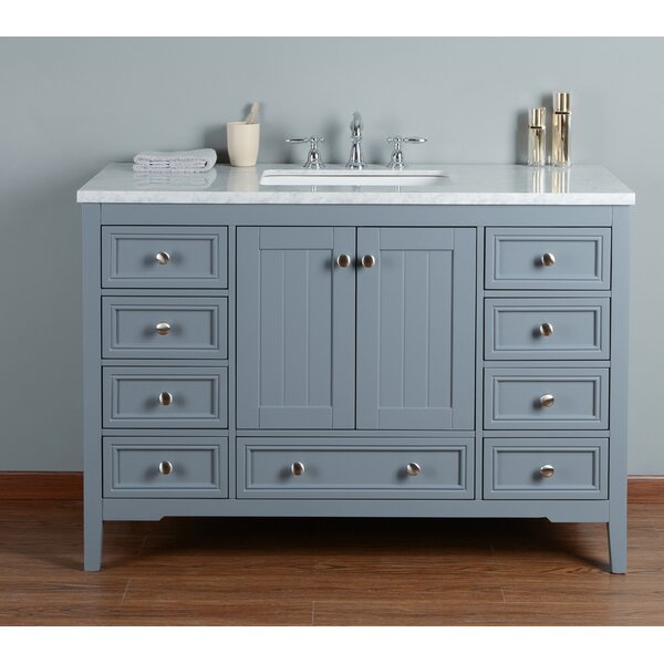Murchison 48 Single Bathroom Vanity Set by Beachcrest Home
