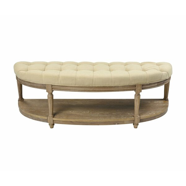 Cristian Upholstered Storage Bench by One Allium Way