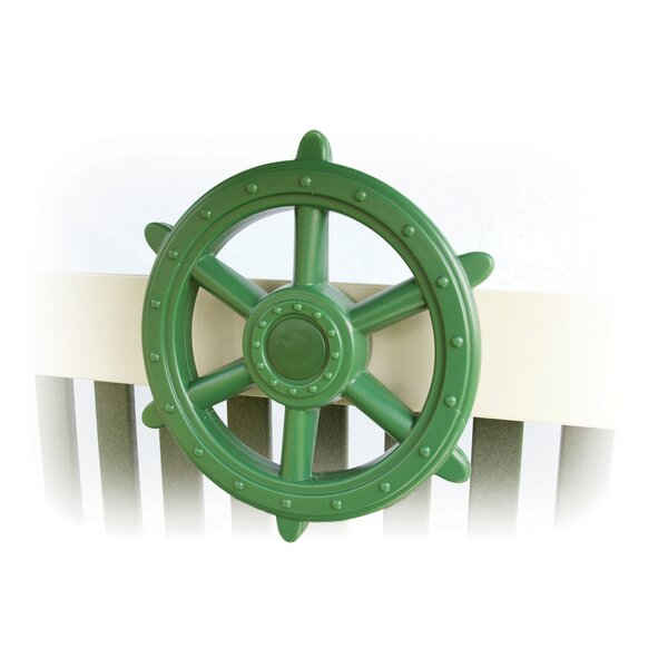 Ship Wheel Swing Set Toy by YardCraft