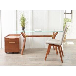 Moffitt Glass Writing Desk