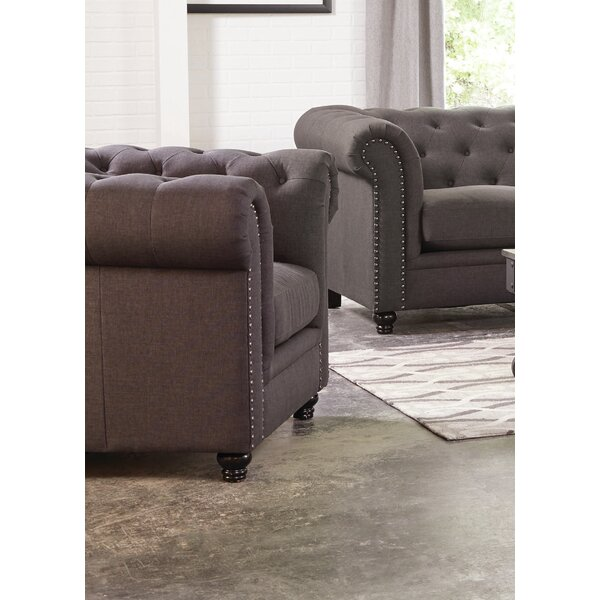 Vanallen Chesterfield Chair by Darby Home Co