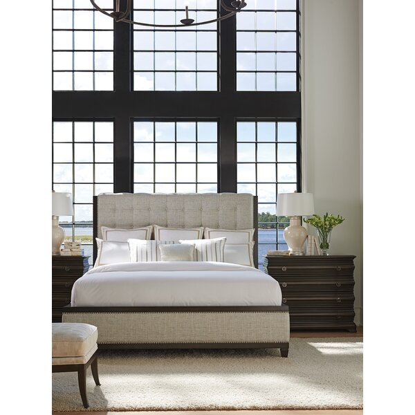 Brentwood Upholstered Panel Configurable Bedroom Set by Barclay Butera
