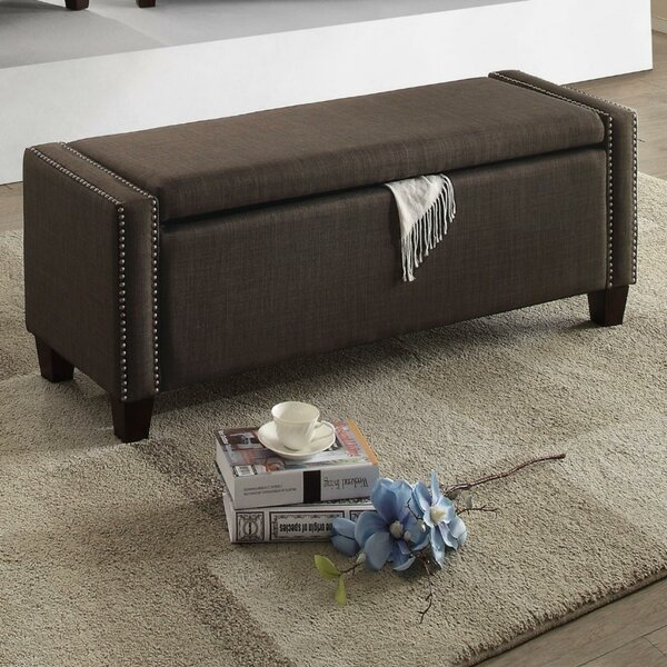 Lafon Upholstered Storage Bench by Alcott Hill