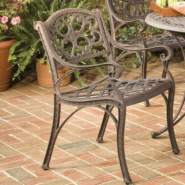 Ayleen Patio Dining Chair (Set Of 2) By August Grove