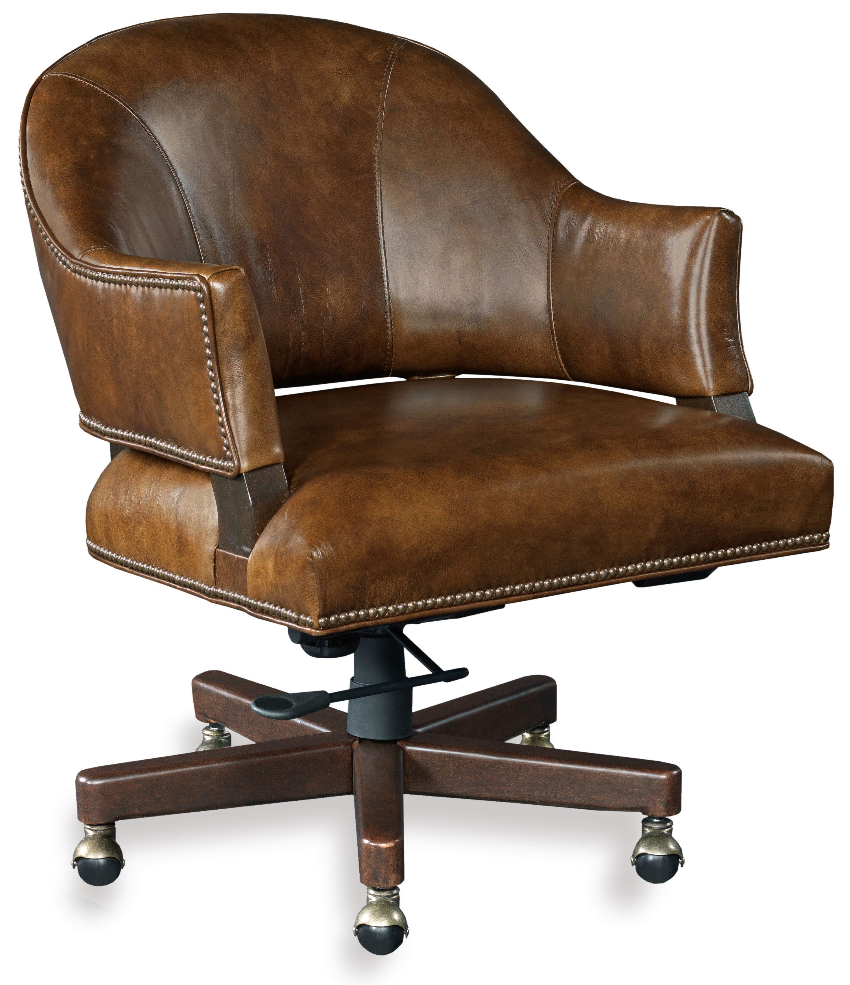Hooker Furniture Isadora Leather Desk Chair   Wayfair