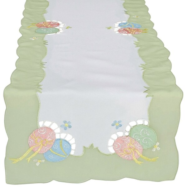 Easter Egg Table Runner by Xia Home Fashions