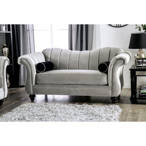 Patio Furniture Drummond Chesterfield Loveseat