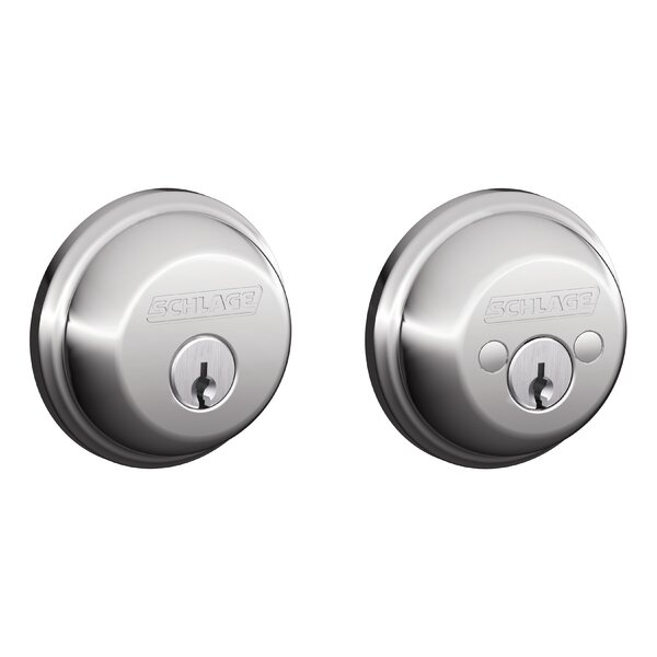 B Series Double Cylinder Grade 1 Deadbolt by Schlage
