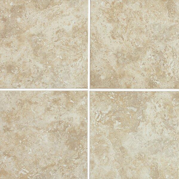 Cromwell 12 x 12 Ceramic Field Tile in Raffia by Itona Tile