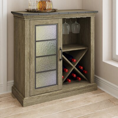 Bar Cabinet With Wine Fridge Wayfair