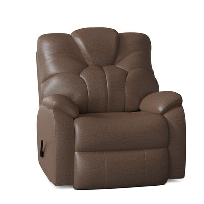 """Avalon 39"""""""" Wide Standard Recliner Southern Motion Body Fabric: Pasadena Elk, Reclining Type: Manual -  1838-24221"""