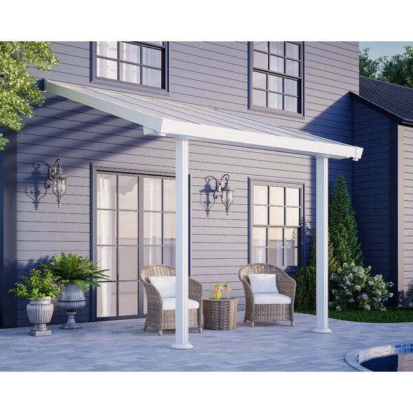 Gala™ 10 ft. W x 9.5 ft. D Patio Awning by Palram