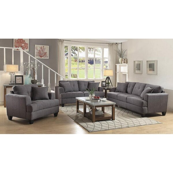 Munos 3 Piece Living Room Set by Red Barrel Studio
