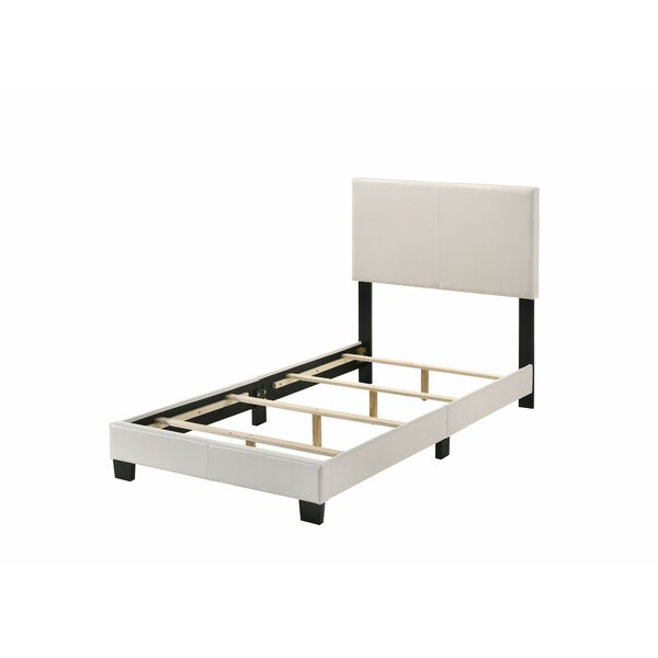 Vesper PU Upholstered Standard Bed by Andover Mills