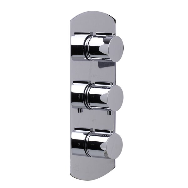 Concealed 3 Way Thermostatic Valve Shower Mixer by Alfi Brand