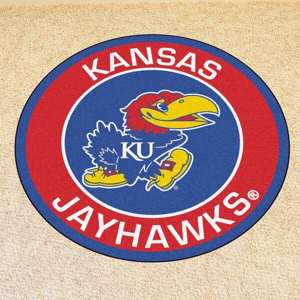NCAA University of Kansas Roundel Mat by FANMATS