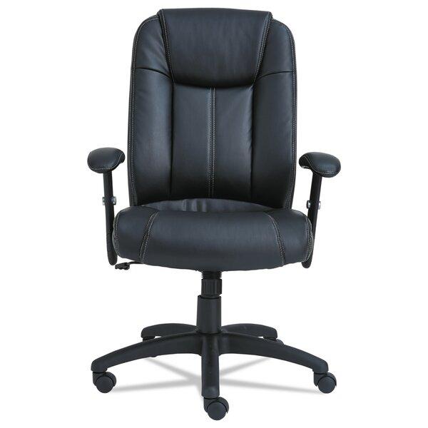CC Series Ergonomic Leather Executive Chair by Alera®