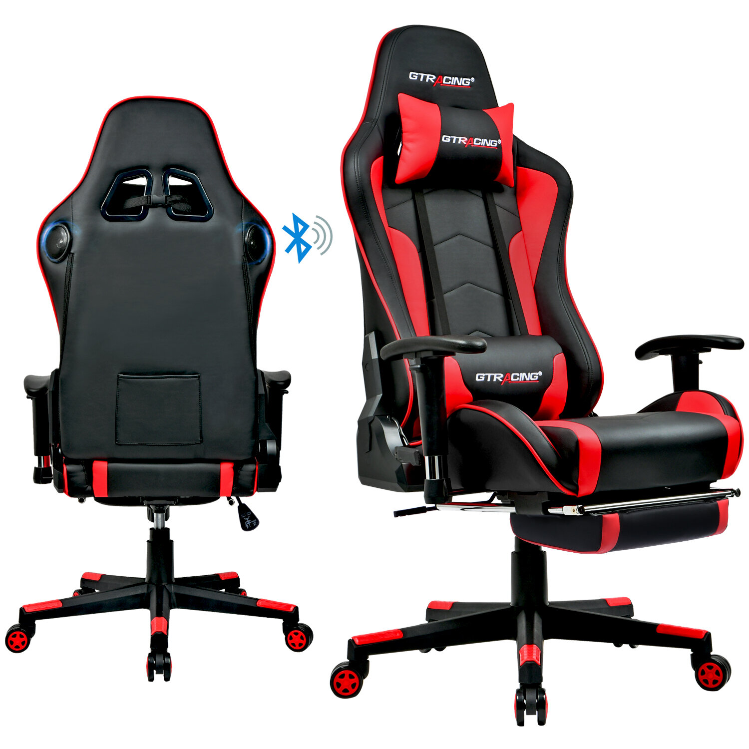 300lbs - 400lbs Speaker System Gaming Chairs You'll Love in 2021