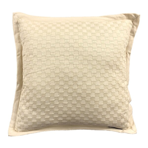 Kennard Honeycomb Texture Cotton Throw Pillow by Winston Porter