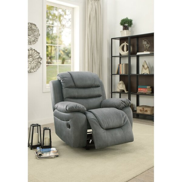Dorney Leatherette Rocker Manual Recliner by Canora Grey