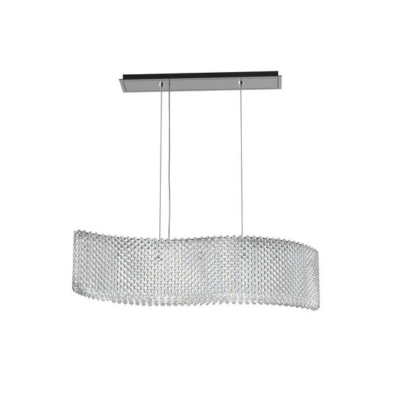 Refrax 13-Light Kitchen Island Pendant by Schonbek