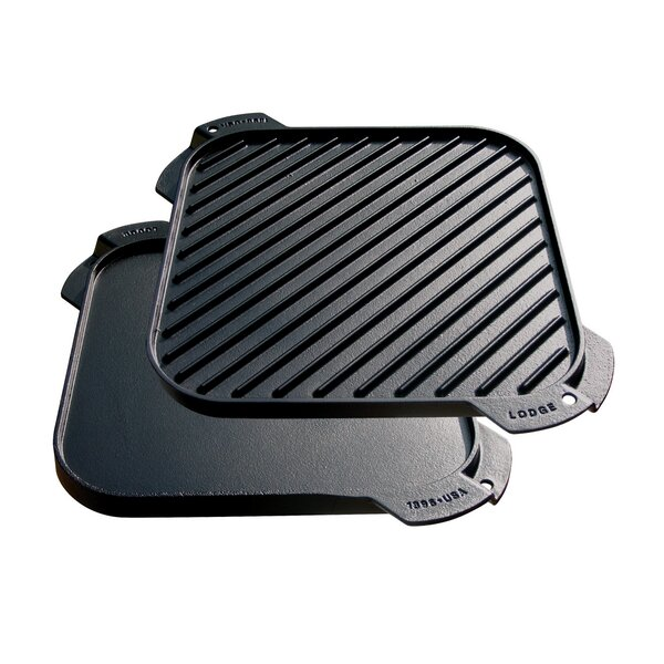 10.5 Reversible Grill Pan and Griddle by Lodge