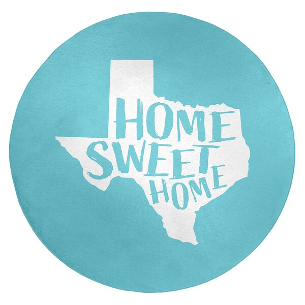 Home Sweet Texas Poly Chenille Rug
