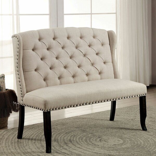 Artis Upholstered Bench by Canora Grey Canora Grey