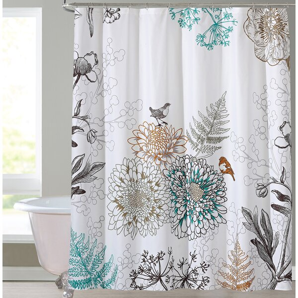 Phoebe Shower Curtain by Red Barrel Studio
