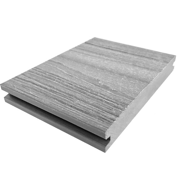 144 x 6 Composite Interlocking Deck Plank in Gray