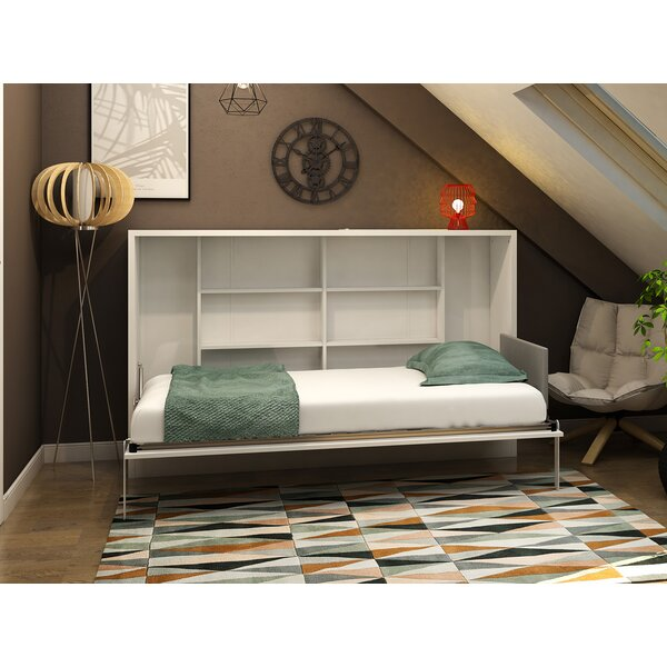 Hansell Queen Storage Murphy Bed By Brayden Studio by Brayden Studio 2020 Sale