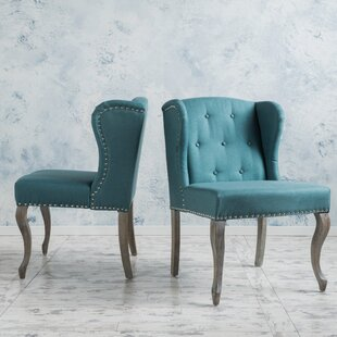 Affordable Soan Wingback Chair (Set of 2) By Lark Manor