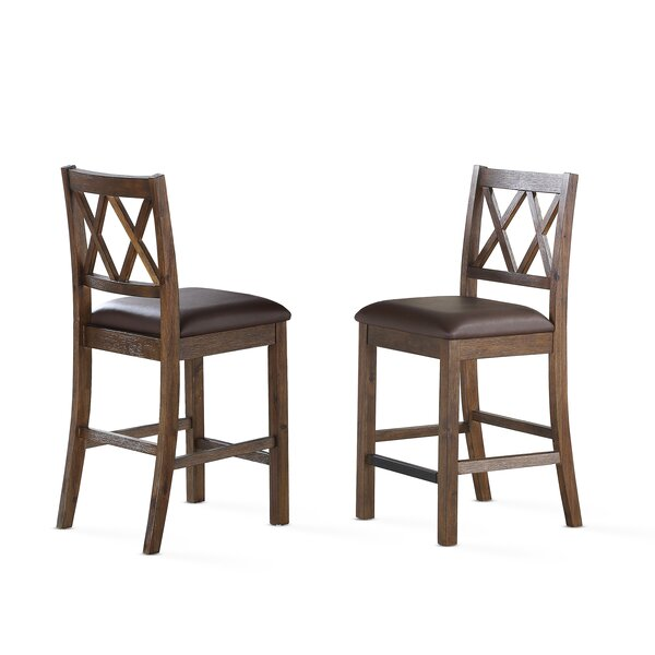 Word 24 Bar Stool (Set of 8) by Gracie Oaks