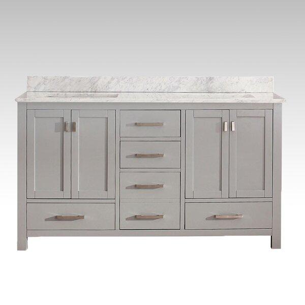 Harper 61 Double Bathroom Vanity Set by Hokku Designs