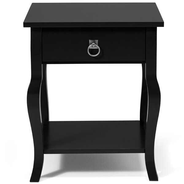Danby End Table With Storage By Andover Mills Fresh