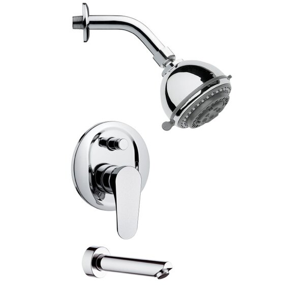 Peleo Pressure Balance Tub And Shower Faucet With Spot Resist By Remer By Nameek's